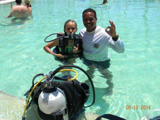 Now Larimar Punta Cana: Paula en su primera experiencia con bombona
