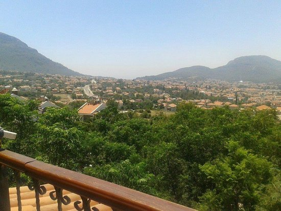 Perdikia Hill: View from the balcony at Rm 1212