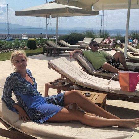 D-Marin Didim Marina Yacht Club: Sunbeds