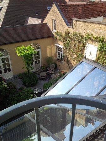 Hotel Ter Duinen: la vue du balcon de la chambre