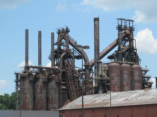 ‪The Rise and Fall of Bethlehem Steel - Walking Tour‬