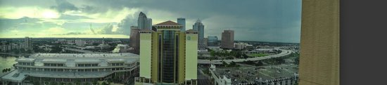 Embassy Suites by Hilton Tampa - Downtown Convention Center: top floors