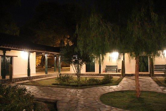 Hacienda de Molinos: Patio interior zona habitaciones