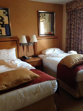 Skyline Hotel: twin bed room