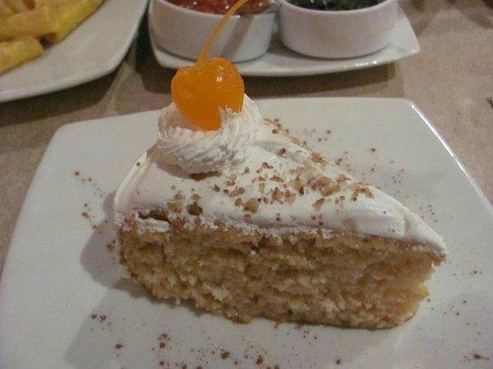 Patio del Ekeko : Excelente Torta de tres  leches