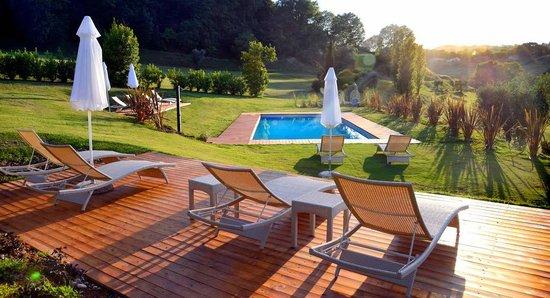 Countryhouse I Lauri: Piscina