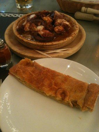 La Gran Pulperia: pulpo+empanada