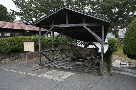 Sankyo Soko Storehouse : 小鵜飼船