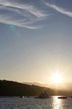 Galloway Activity Centre: Loch Ken at sunset