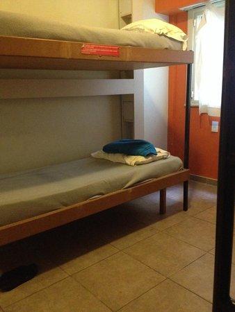 Hostel Suites Florida: Quarto