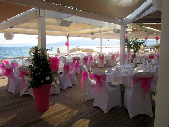 Garden Beach Hotel : Stunning wedding reception at the hotel