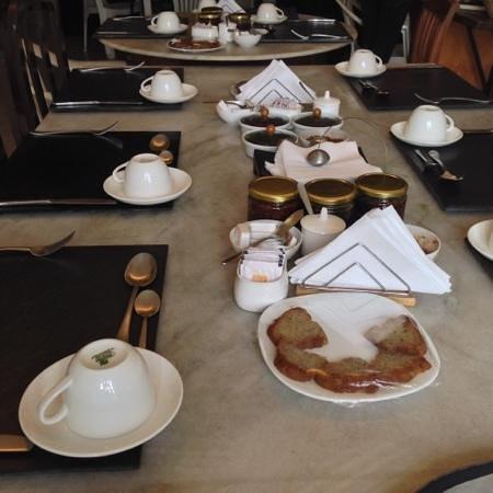 Colonel's Retreat: petit déjeuner copieux
