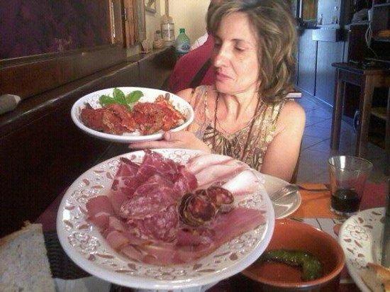 Osteria dei Borboni : Ancora l'antipasto Maestoso