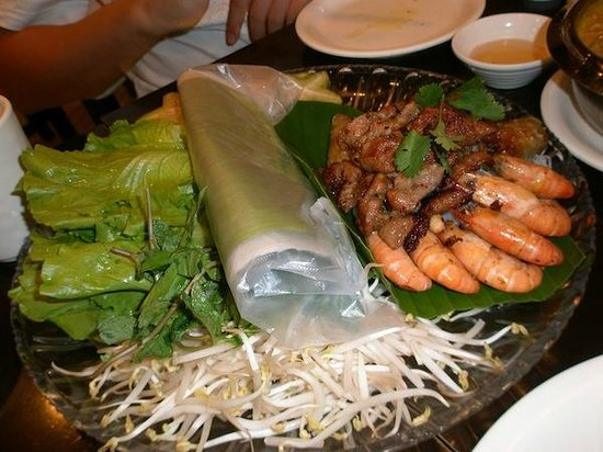 Tiger Prawn (Huifudong Road): i forget the name of this food... this is vietnamese prawn roll