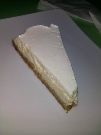 Nishta: Lime cheesecake