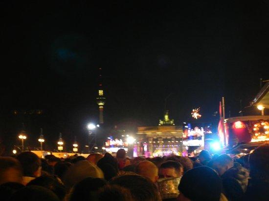 Puerta de Brandenburgo: Reveillón Brandemburgo