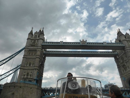 Thames RIB Experience: Tower bridge from the boat