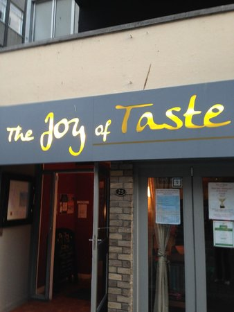 The Joy of Taste: Signage for Joy of Taste