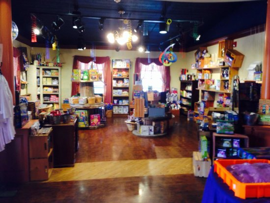 Pennypickle's Workshop - Temecula Children's Museum: Shop (entrance of museum) many great cool items.