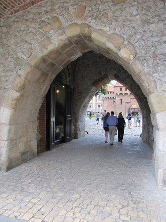 St. Florian's Gate (Brama Florianska) : Main gateway