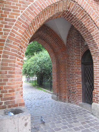 St. Florian's Gate (Brama Florianska) : Secondary gateway