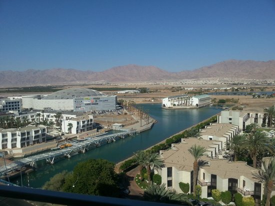 Isrotel King Solomon : view from the room