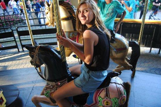 Gardaland Resort: Enjoying one of the rides