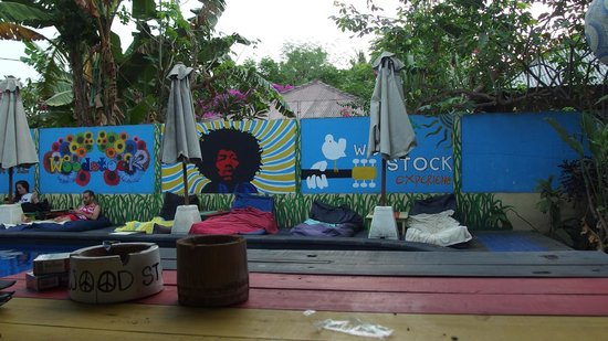 Wood Stock Home Stay : the pool
