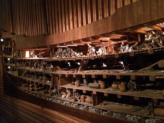 Vasa-Museum: Figurines inside Vasa