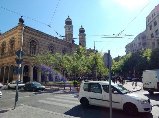 Great / Central Synagogue (Nagy Zsinagoga): Grande Sinagoga centrale (Nagy Zsinagoga)