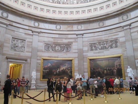 U.S. Capitol : La rotonde