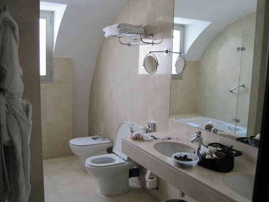 NH Zamora Palacio del Duero: Banheiro