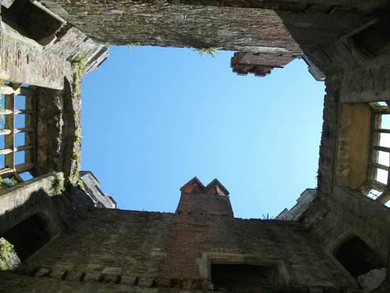 Titchfield Abbey: Looking up