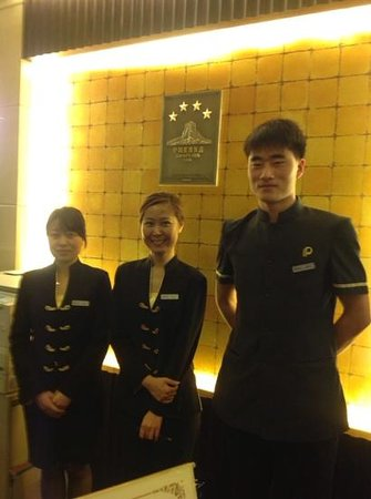 Poly Plaza Hotel: friendly staff