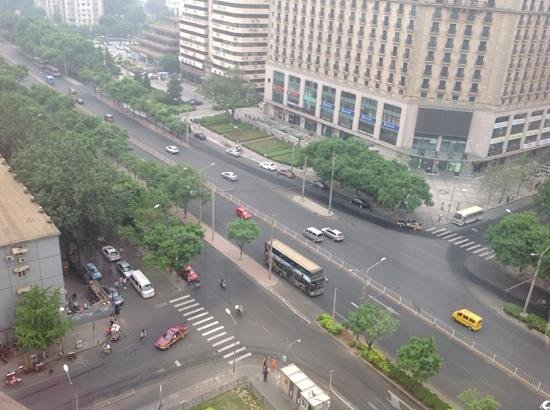 Poly Plaza Hotel: view from our window
