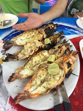 Mit Samui Restaurant: Jumbo prawns