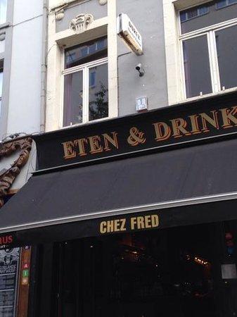 Photo of Belgian Restaurant Chez Fred at Kloosterstraat 83, Antwerp 2000, Belgium