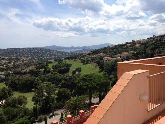 Amarante Golf Plaza : vue sur la baie de St Tropez