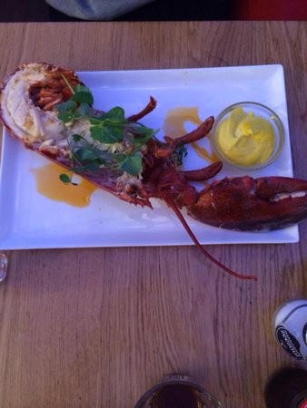 The Seafood Bar : Half lobster! Delicious!