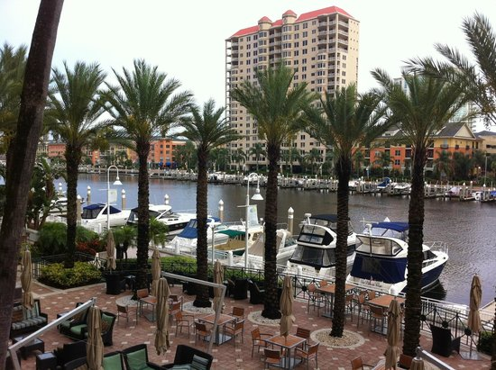 Tampa Marriott Waterside Hotel & Marina: view of channel
