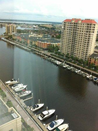 Tampa Marriott Waterside Hotel & Marina: view of 21st floor