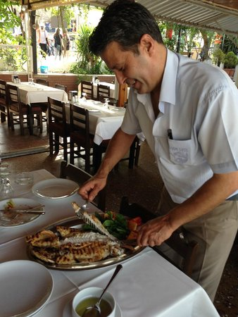 Kazim Usta Restaurant: The fish!