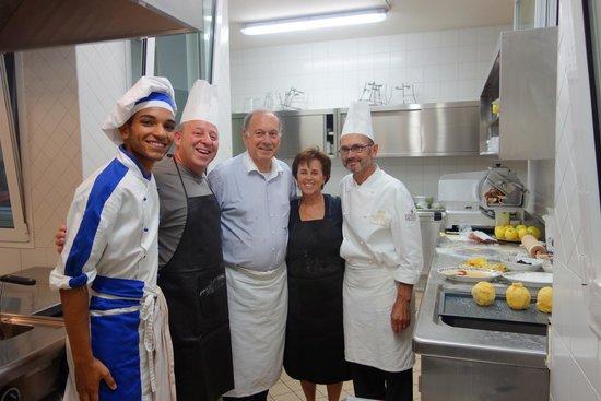 Hotel Villa Franceschi : Cooking class