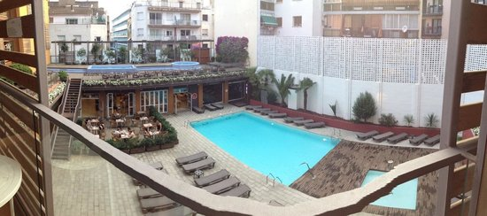 Alegria Plaza Paris: vue du balcon