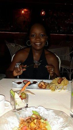 Coyaba Restaurant : Me celebrating my birthday