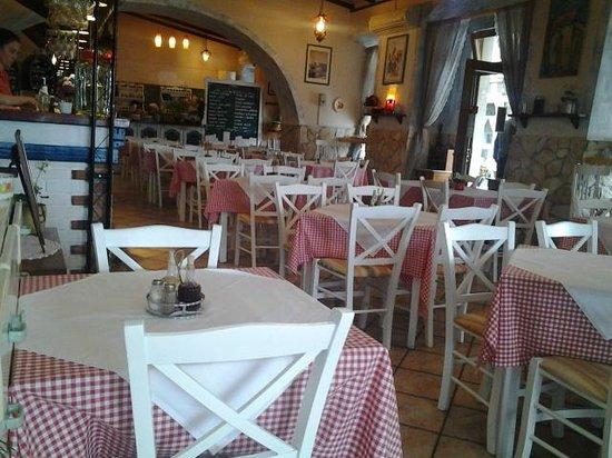 Mornar: Inside the restaurant