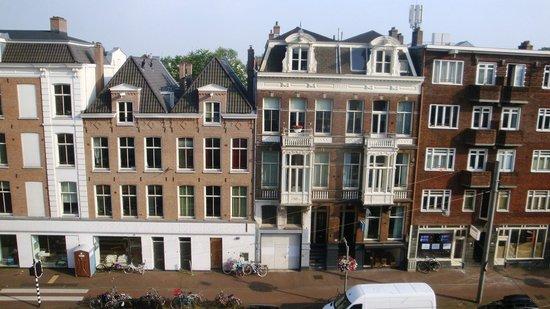 Hotel Abba: vista dalla camera al 3°piano