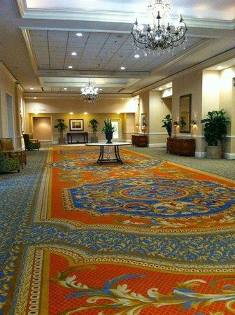 Tampa Marriott Waterside Hotel & Marina: ballroom hall