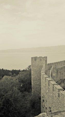 Tsar Samuel's Fortress : The fortress