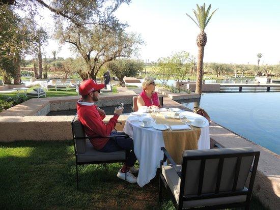 Fairmont Royal Palm Marrakech: COLAZIONE
